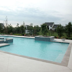 gunite pool cost. When You Think Of Pool Plaster, Normally The Smooth, White Plaster Surface That Turns A Sparkling Blue Filled With Water, But There Are Gunite Cost